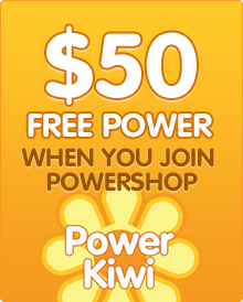 get $50 free power with Powershop